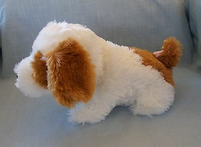 Jack Russell Puppy, Toy - Moves Head, Wags Tail, Barks, Wimpers, Sneezes, Pants