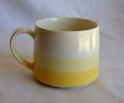 Starbucks Coffee Mug Tea Cup Tapered Yellow 10 Oz 2013 Limited Edition NEW