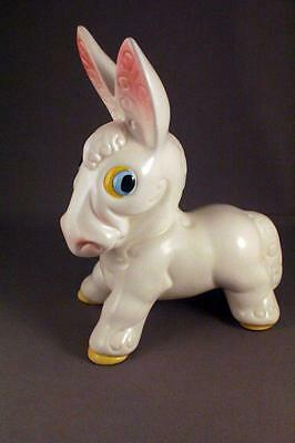 "Rare Vintage Sylvac Startled Character Donkey  #3384 6.5"" - Perfect"