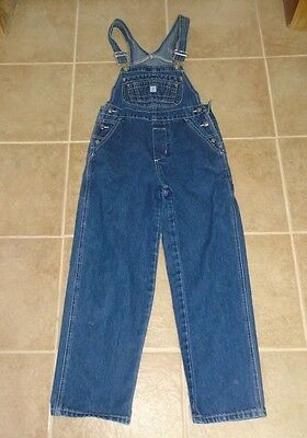 Girls Gasoline Blues Jeans  Overalls M