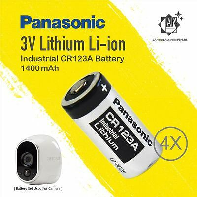 One Set Panasonic Battery For Netgear Arlo Security Camera VMS3330 3230 3310