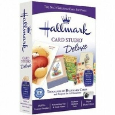 Avanquest Hallmark Card Studio Deluxe V12 PC Brand New