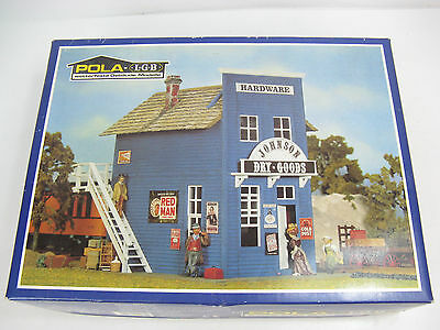 "POLA LGB #934 G-Scale ""Johnson Dry Goods Hardware"" Store Building Kit, Unused"
