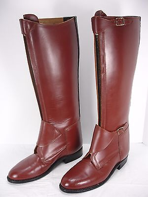 EFFINGHAM by BOND BOOT CO 3000M LEATHER POLO EQUESTRIAN RIDING BOOTS MEN'S 9