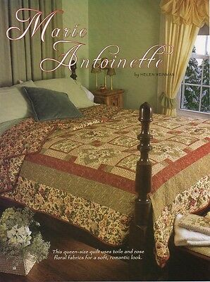 Marie Antoinette  Quilt  pattern only