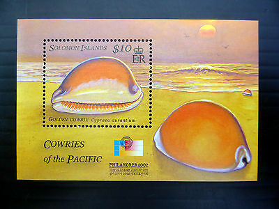 SOLOMON ISLANDS Wholesale 2002 Korea $10 Shell MS1033 M/Sheet x 50 FP1078