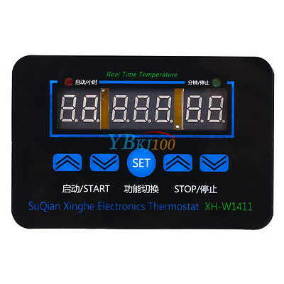 DC12V Digital LED Temperature Controller Thermostat Control Switch Probe XH-1411