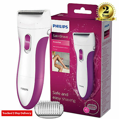 Philips HP6341 LadyShave Wet Dry Ladies Electric Shaver Bikini/Legs Hair Remover