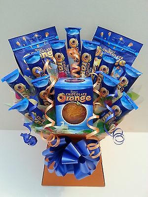 TERRY'S CHOCOLATE ORANGE BOUQUET - Sweet Tree Explosion Hamper - Perfect Gift
