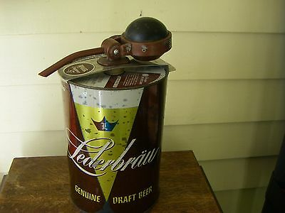 Lederbrau Accent Beer Can with Topper