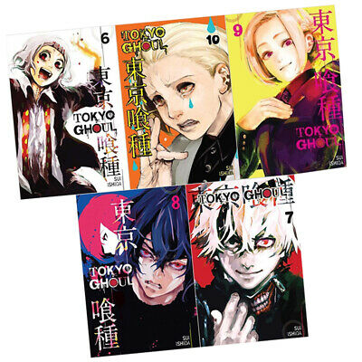 Suilshida's Tokyo Ghoul Series (Vol 6 -10) Collection 5 Books Set, New Paperback