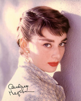 Audrey Hepburn Autographed Photo *striking Pose* Signed Reprint Free Shipping