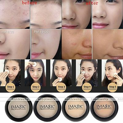 Professional Women Beauty Makeup Cosmetic Pressed Powder Foundation New EE