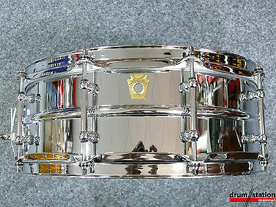"""Ludwig USA Supra Phonic Snaredrum 14x5""""  -  LM400T  -  Neues Modell"""