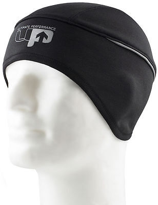Ultimate Performance Runners Running Hat Black Liner Fitted Athletic Beanie WARM