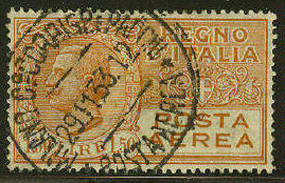 Italy #C8 Used Stamp - Air Post