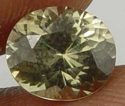 KORNERUPINE Natural 1.60 CT Well Cut Oval Glowing Rare Faceted Gem 10110374