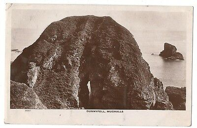MUCHALLS Dunnyfell, RP Postcard by Valentine, Postally Used Postcard 1911