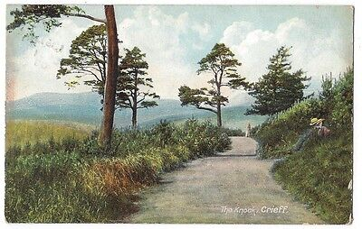 CRIEFF The Knock, Old Postcard, Postally Used 1909