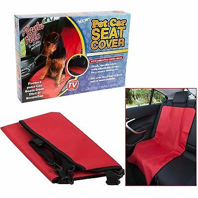 Front Rear Car Seat Pet Dog Cover Protector Secure Fit Waterproof Mat Boot Liner