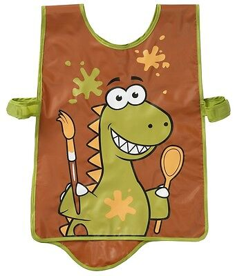 Bugzz Kids Tabard Childrens Dinosaur Fun Dino Painting Cooking Boys Child Apron