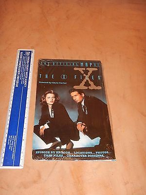 1995 The Official Map Of The X Files; Edisode Locations, Photos, Case Files  Nos