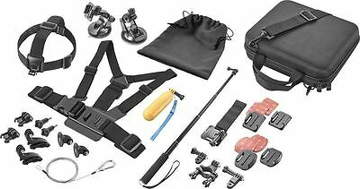 Dynex DX-DGPK02 Advanced Accessory Kit for GoPro Action Camera  NEW