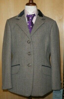 Shires Children's Universal Huntingdon Tweed Show Jacket Size 26