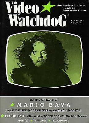 OUT-OF-PRINT ULTRA-RARE  VIDEO WATCHDOG #5 (1991) horror & fantastic digest