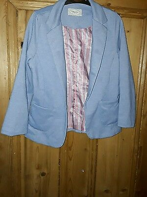 girls candy couture casual blue blazer style jacket age 12-13 years