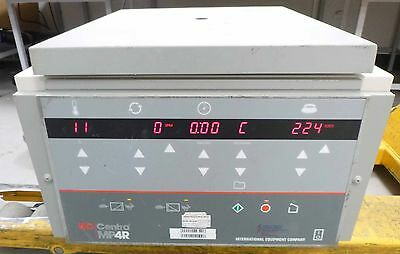IEC Centra MP4R Benchtop Centrifuge Refrigerated High Speed