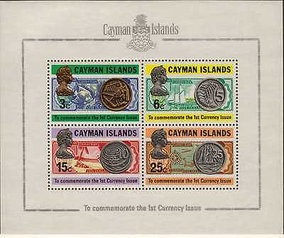 """Cayman Islands: 1972: """" First Issue of Currency """","""