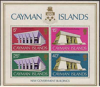 Cayman Islands:1972:New Government Buildings,Set in Min/Sheet,MNH.