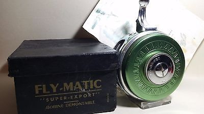 Ancien Moulinet De  Pêche Fly Matic Super- Export