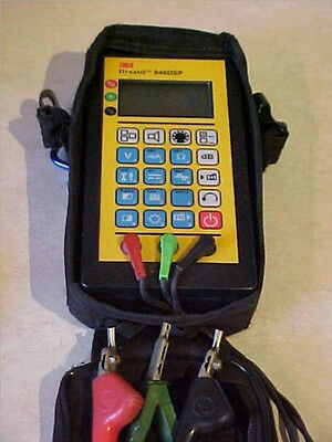 3M Dynatel 946DSP Subscriber Loop Tester w/ Leads, Case, new Batteries free ship