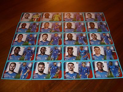 Images Panini Foot 2016/2017 (Equipe De France Complete)