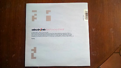 ELECTRONIC  FEEL EVERY BEAT excellent+ 1991 factory records UK VINYL 45