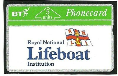 Btg008 Rnli Lifeboat Inst Mint Bt Phonecard Catalogue £18