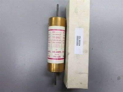 New Gould TRS225 225 Amp Fuse 600 vac New in Box Old Stock Guaranteed