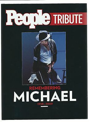 Michael Jackson People Remembering Michael Collectors Hard Cover New Free S/h