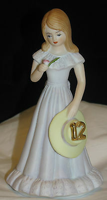 ENESCO Growing Up Birthday Girl – Age 12 - Brunette Excellent Cond., no box