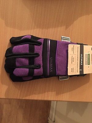 Town & Country Medium Ultimax Multitask Gardening Gloves for Ladies Free Post