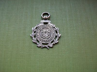 Silver Hallmarked The Border City Swimming Club championship 1924 G.N.Critchley