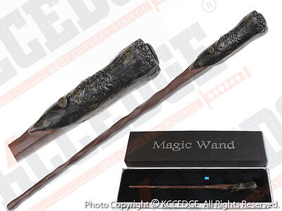 Harry Potter Movie Hogwarts Wizard Collect Magic Wand LED LIGHT UP Halloween