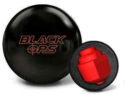 15lb 900 Global BLACK OPS Solid Reactive Bowling Ball New