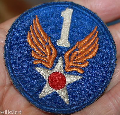 WWII US Army Air Force original Shoulder patch 1st Air Force