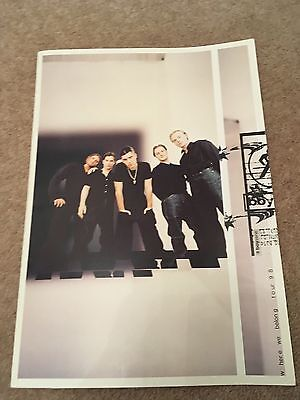 Boyzone Official Tour Programme And Ticket