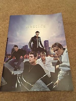 Westlife Official Tour Programme And Ticket