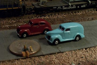 2 Old Era Cars Automobiles N Scale Vehicles