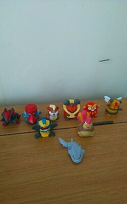 Collection Of 9 Pokemon Figures Some Rare